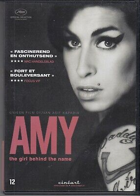 AMY WINEHOUSE AMY THE GIRL BEHIND THE NAME DVD pal freepost worldwide