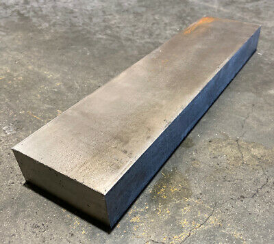 """1 1/2"""" Thickness 304 Stainless Steel Flat Bar 1.5"""" x 3"""" x 12"""" Length"""