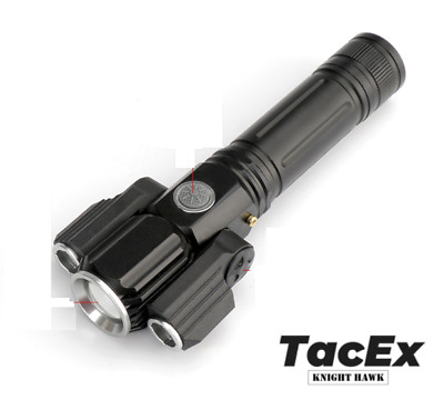 Tactical Camping Led Flashlight 3000 Lumen USB Rechargeable Zoomable Waterproof