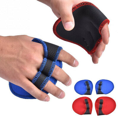 Sports  Dumbbell Grips Pads Hand Palm Protector Training Gloves Weight Lifting