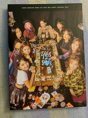 Twice - YES or YES Album (No Photocard) RANDOM Bookmark + Member Disc (You Pick)
