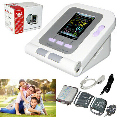 Digital Blood Pressure Monitor Neonate Infant Pediatric Adult NIBP Cuff+Software