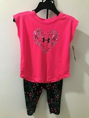 Under Armour Shorts Black Pink 18 M Girl/'s NWT