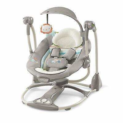 Electric Baby Bouncer Rocker Vibration Chair Portable Musical Cradle Swing Seat