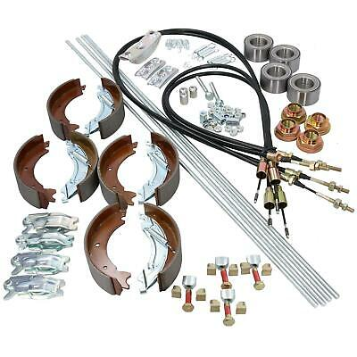 Brake Shoe Cable Bearing Kit for Ifor Williams Goods Trailer GD84 2700kg