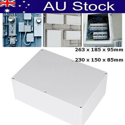 Waterproof ABS Electronic Project Enclosure Plastic Case Screw Junction