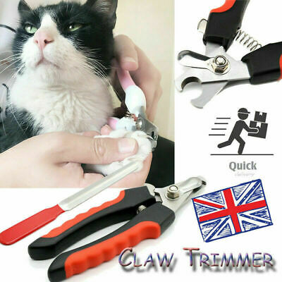 Pet Nail Clippers Dog Cat Rabbit Sheep Animal Claw Trimmer Grooming Small/Large