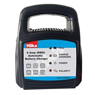 6 A Automatic Battery Charger - Hilk Amp 8365000