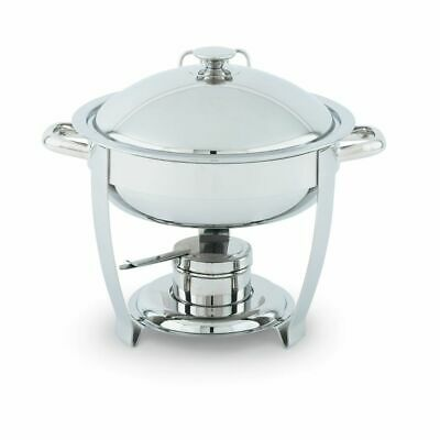 Vollrath 46502 Orion Large Round 6 Quart S/S Lift-Off Chafer