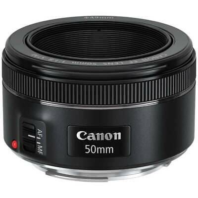 Canon Ef 50mm F/1.8 Stm Objetivo Negro Completo Marco