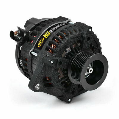 XDP Wrinkle Black HD High Output Alternator For 1999-2003 Ford 7.3L Powerstroke