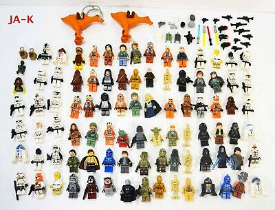 Lego Star Wars Minifigures Lot Of 89 Han Solo Luke Vader Trooper Ewok Sith Chewy