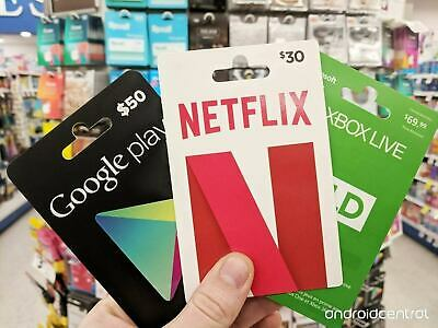 How To Get Discounted Gift Cards 40% Off Of Its Value Netflix Amazon iTunes .