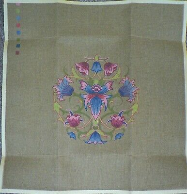 Flowers Printed Tapestry Canvas - unbranded