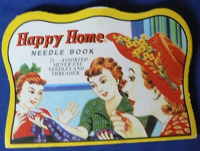 'Happy Home' Silver Eye Needles Book– not complete