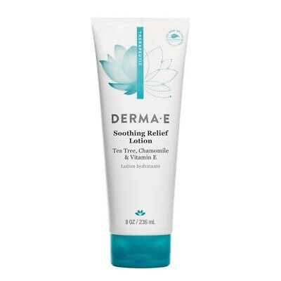 DERMA E - Soothing Relief Lotion , Tea Tree, Chamomile &  Vit E - 8 fl oz/236ml