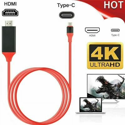 USB-C Type C to 4K HDMI HDTV Adapter Cable For Samsung Phone Macbook Pro