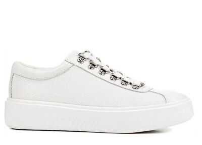 Sneakers GEOX D Theragon Silver Bianco,allerine A Punta Con