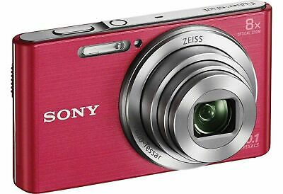 Sony Cybershot W830 2.7 Inch LCD 20MP 8x Zoom 720p Compact Digital Camera Pink