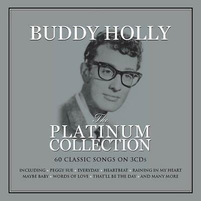 Buddy Holly The Platinum Collection 60 tracks on 3 CDS Peggy Sue Heartbeat