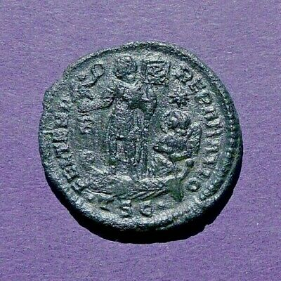 M2658 Constantius II, AE23 mm of Thessalonica. AD 350.  5.3g