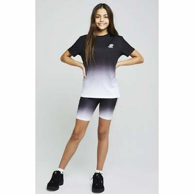 Illusive London Girls Tape Fade Cycle Shorts  (11-12 Years)