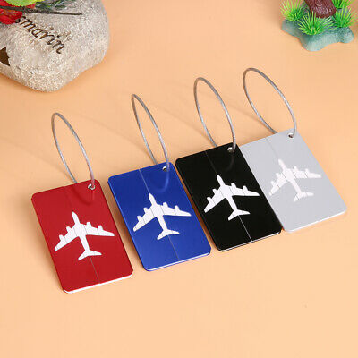 Luggage Tag Travel Suitcase Bag Name ID Tags Address Label Baggage Card Holder B