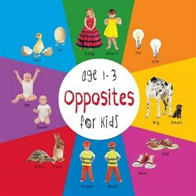 Opposites for Kids age 1-3 (Engage Early Readers: Children's Learning Books) ...