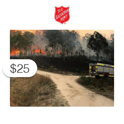 $25 Charitable Donation For: Australian Wildfire Relief