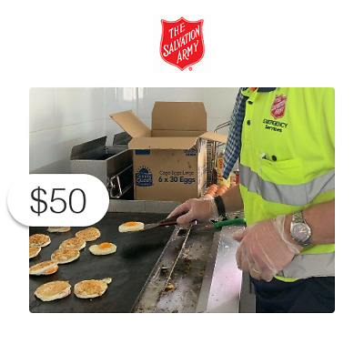 $50 Charitable Donation For: Australian Wildfire Relief