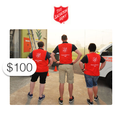 $100 Charitable Donation For: Australian Wildfire Relief