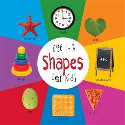 Shapes for Kids age 1-3 (Engage Early Readers: Children's Learning Books) wit...