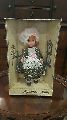 Antique Uneeda Agatha Doll Mint In Box, Vintage Never Opened