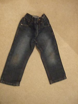 Boy's Jeans by Bluezoo and George Size 3-4 years