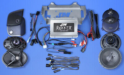 J/&M JM Performance Series 200w RMS 2-Channel Audio Amplifier for Harley//Motorcycle//Auto//Marine//ATV # JMAA-2000