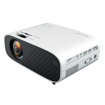 Mini Projector 30000hrs LED Projector Full HD 1080P Home Movie Theater Cinema US