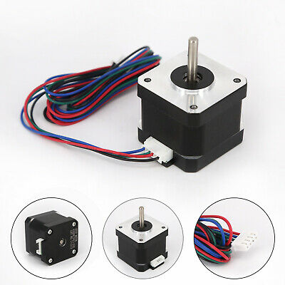 Stepper Motor 2 Phase 1.8 Degree 42mm 4-Wires For 3D Printer NEMA17/CNC Supplies
