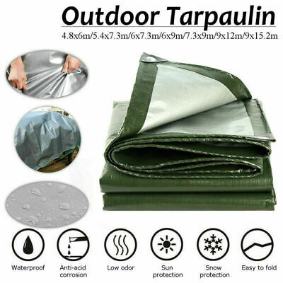 Cost Wise waterproof camping ground sheet//tarp 2m x 3m with eyelets,light to carry!