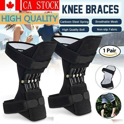 Magic Joint Support Knee Pads Non-slip Power Lift Rebound Spring Force Unisex