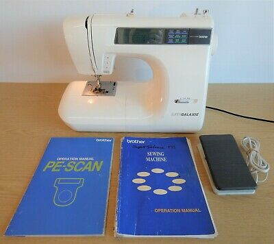 Brother Super Galaxie 895 Computerised Embroidery & Sewing Machine, In GC