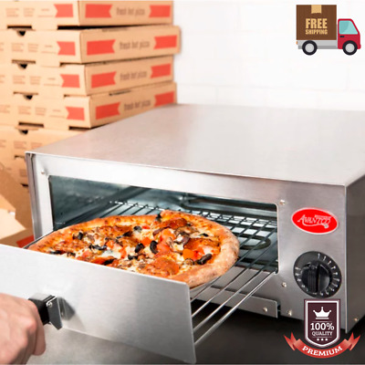 Stainless Steel Pizza Electric Oven Commercial Kitchen Countertop Toaster - 120V