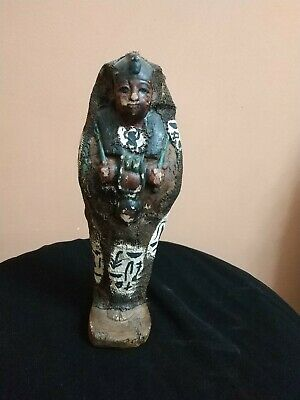 Rare Antique Ancient Egyptian Statue Ushabti 1355 bc