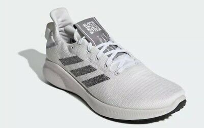 adidas SenseBOUNCE + STREET Men's Running Shoe Off White/Grey G27273 Size 9.5