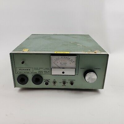 Hughes HRW 50 Industrial Capacitor Discharge Welding Power Supply Unit