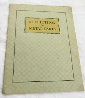 Vintage 1920- 30's Welding Booklet x 3 Stelliting Shielded Arc Thyratron Control