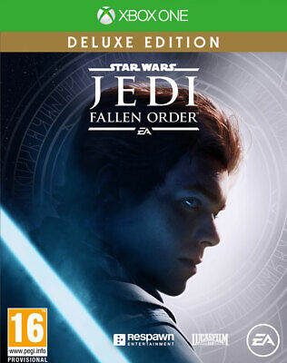 Star Wars Jedi Fallen Order Deluxe Edition (Xbox One) BRAND NEW AND SEALED