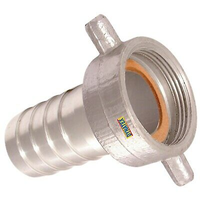 """BSP Coupling Water Pump 1 1/2"""" Female Hose Tail Connector 38mm Suction Layflat"""