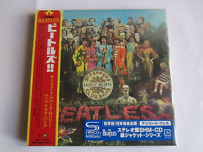 The Beatles - Sgt Peppers 1967/2015 Japan Mini Lp Blue Sticker Shm Cd Uicy-76973