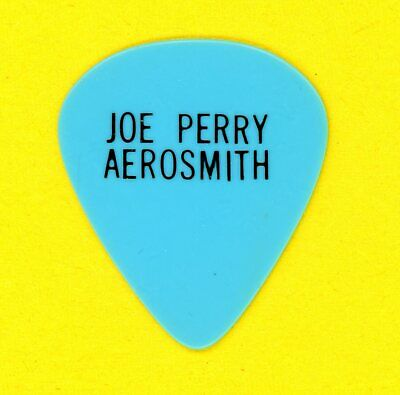 Aerosmith Joe Perry Circa 1975-77 Guitar Pick First Style Custom He Used