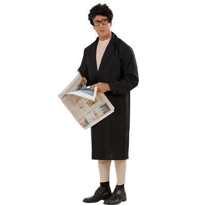 Naked Mann with Coat Exhibitionist Costume Flasher Men Costume